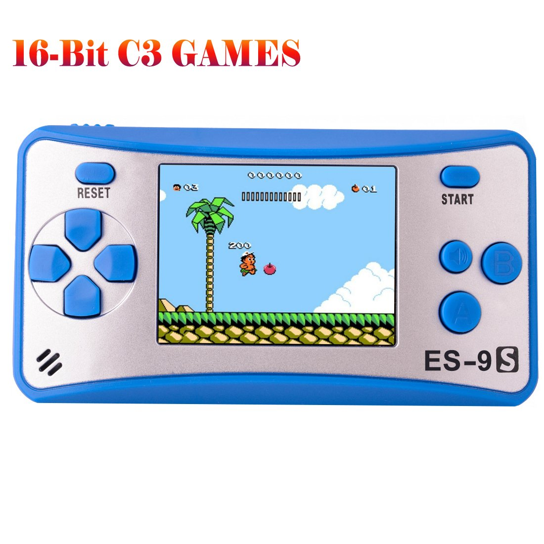 Retro Handheld Game Console Gaming Player System Birthday Gift for Kids Built in 168 Classic Nostalgia Games with 2.5'' LCD Screen Arcade