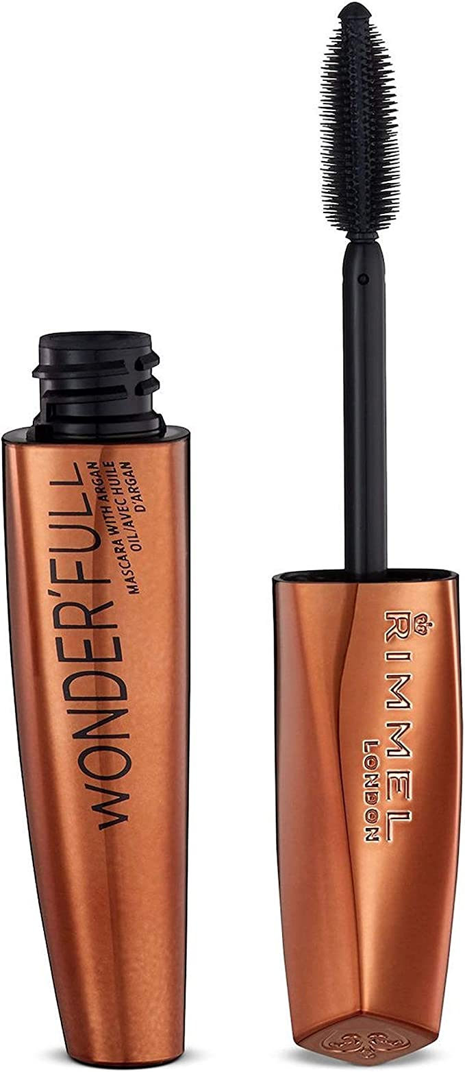 Rimmel London Wonderfull Argan Oil Máscara de Pestañas Tono Black ...