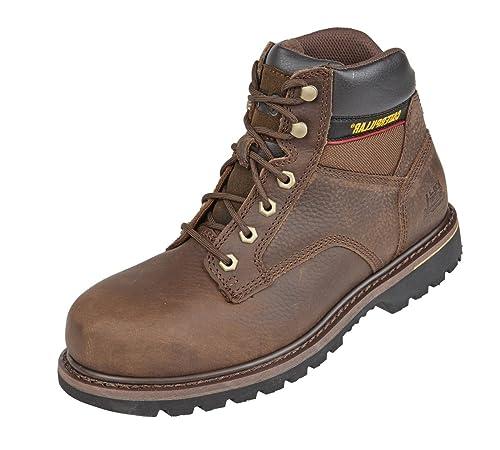 CaterpillarTracker - Zapatos de Seguridad hombre , color Marrón, talla 35.5