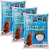 アイリスオーヤマ ニオイをのこサンド 猫砂 7L×3袋 NCS-7L