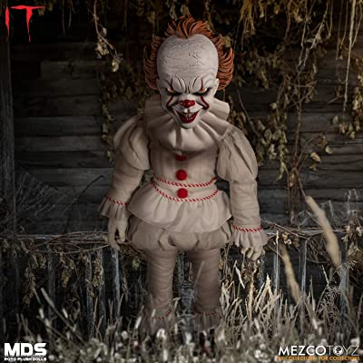 Mezco IT Pennywise Roto Soft-Body Doll Standard: Toys & Games