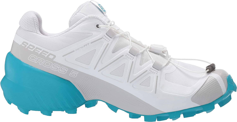 SALOMON Damen ALPHACROSS Traillaufschuhe Weiß Weiß Weiß Drossel