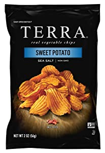 Terra Sweet, Potato with Sea Salt Chips, 2 oz (Pack of 8)