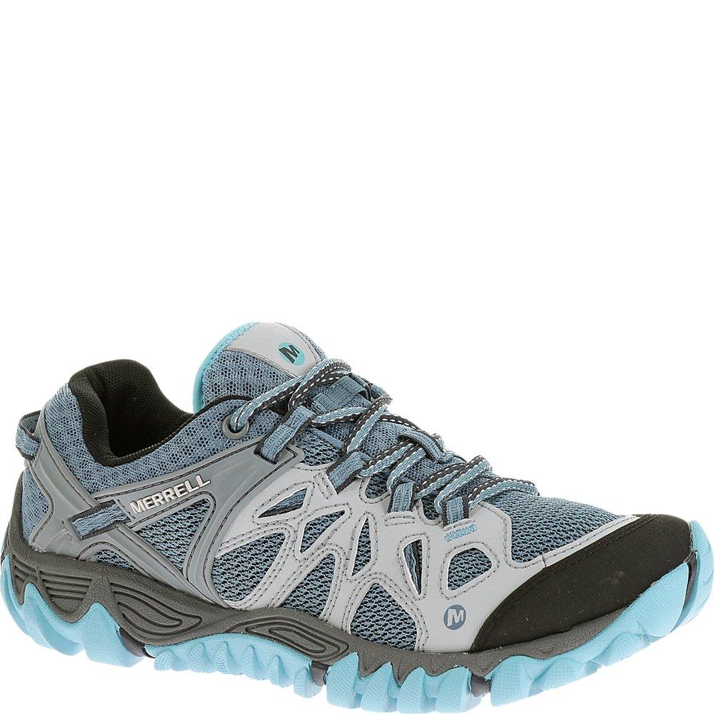 Merrell Women's All Out Blaze Aero Sport Hiking Water Shoe,Blue Heaven,6.5 M US