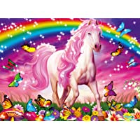 Ravensburger Horse Dreams - 100 Piece Glitter Jigsaw Puzzle for Kids – Every Piece is Unique, Pieces Fit Together…