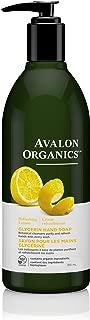 product image for Avalon Organics Glycerin Hand Soap, Lemon, 12 Ounce (Pack of 3)