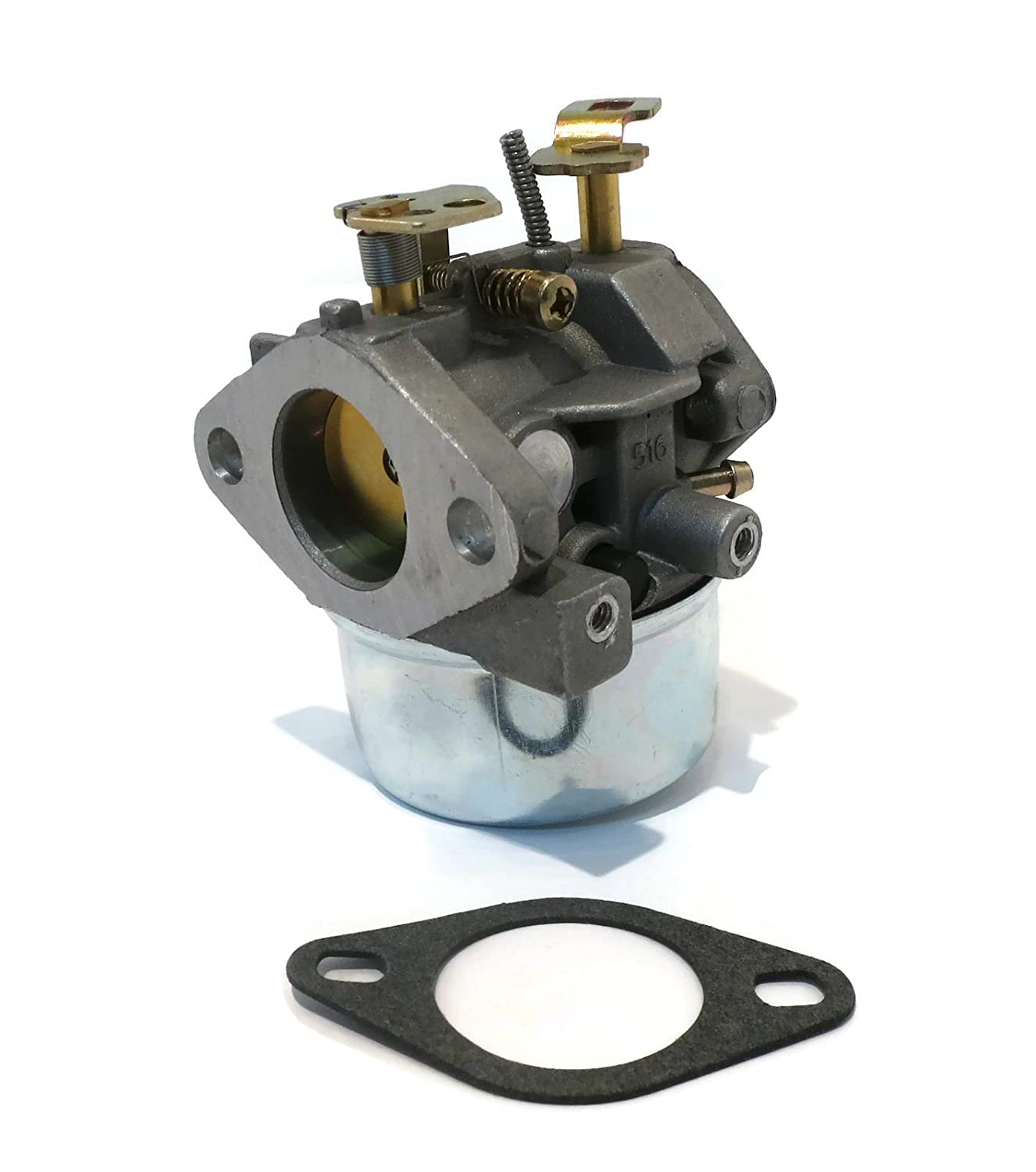 Carburetor W Gasket For Tecumseh 8hp 85hp 9hp Hmsk80 6 5 Hp Diagram Hmsk85 Hmsk90 Snowblowers By The Rop Shop Garden Outdoor