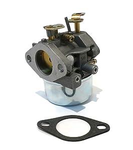 The ROP Shop Carburetor w/Gasket for Tecumseh 8hp 8.5hp 9hp HMSK80 HMSK85 HMSK90 Snowblowers