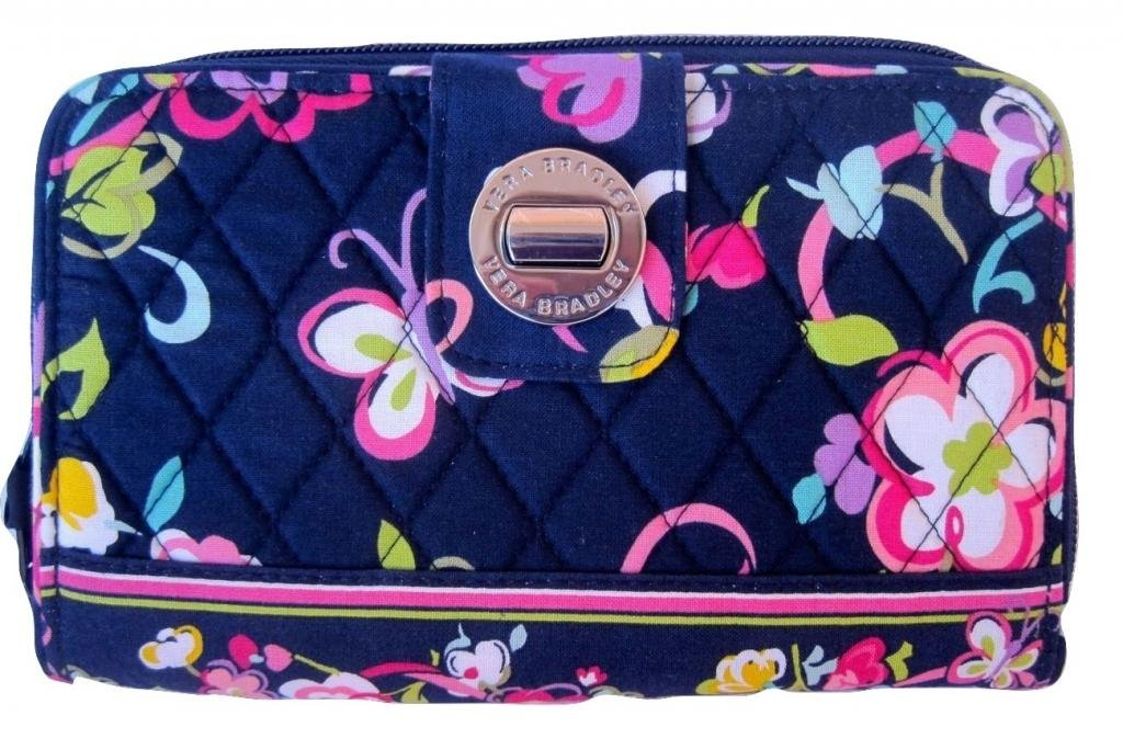 Vera Bradley Turn Lock Wallet in Ribbons by Vera Bradley (Image #1)
