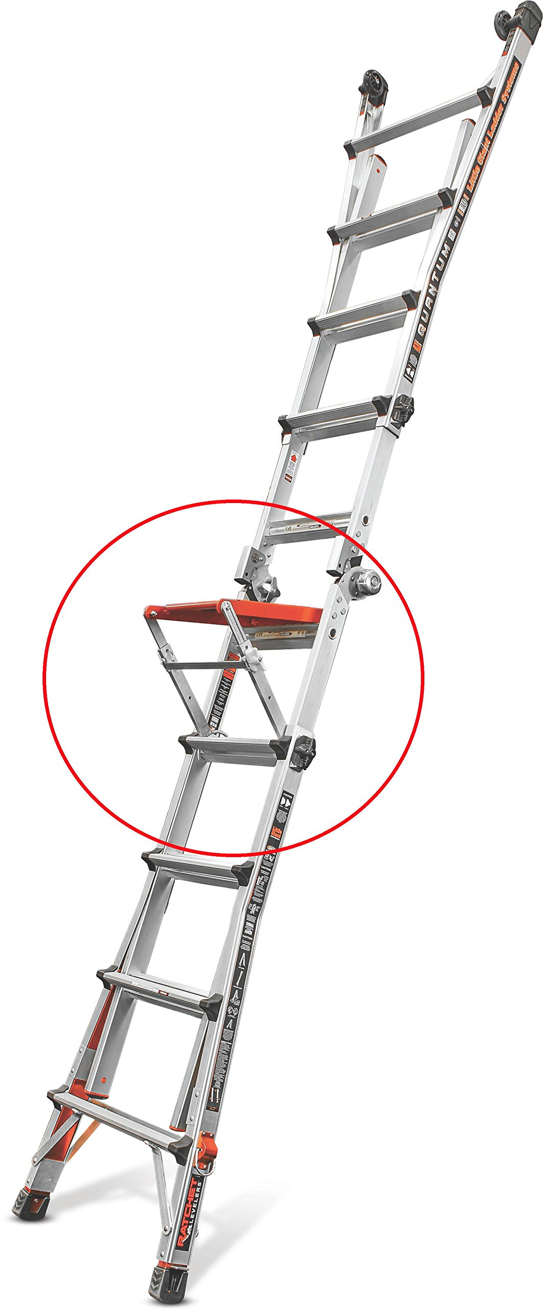 Little Giant Quantum Step 10160-001 Adjustable Work Platform