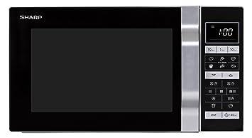 Sharp Home Appliances R860S Encimera - Microondas (Encimera, Microondas combinado, 25 L,