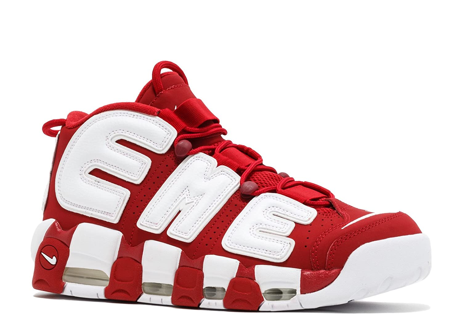 Air More Uptempo Supreme Varsity Red White Zapatillas de Baloncesto para Hombre