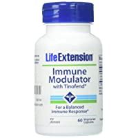 Life Extension Immune Modulator with Tinofend, 60 Count