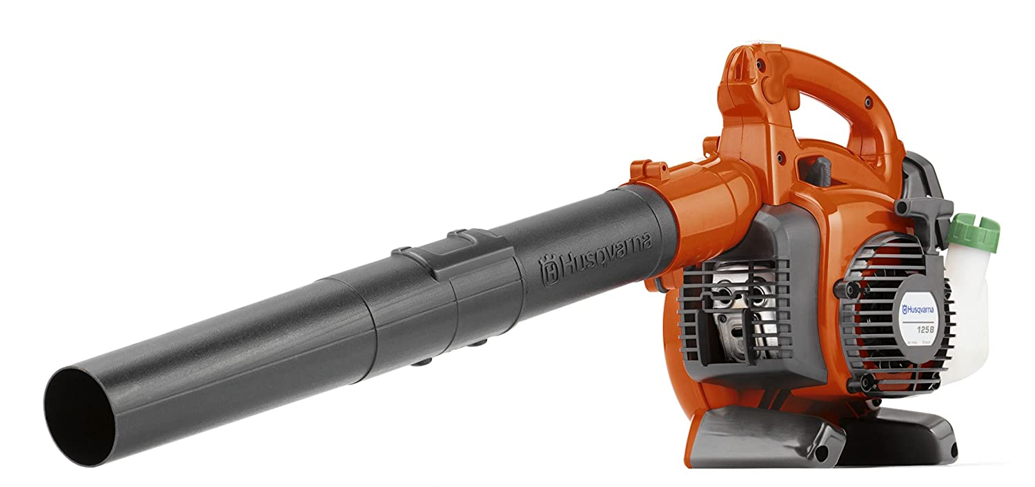 Husqvarna 125B 28cc 2-Cycle Gas 425 CFM 170 MPH Handheld Leaf Blower (Renewed)