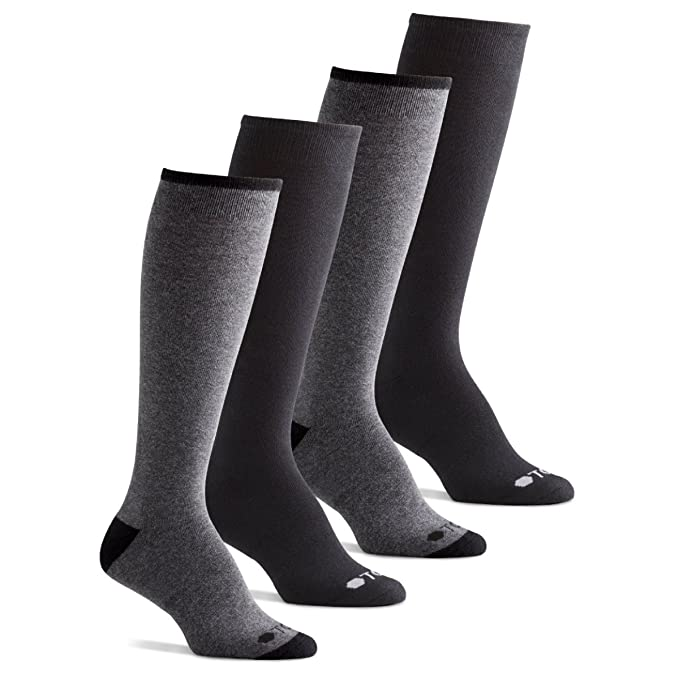 Over the Calf Knee High Boot Socks Women and Men Solid Made in USA