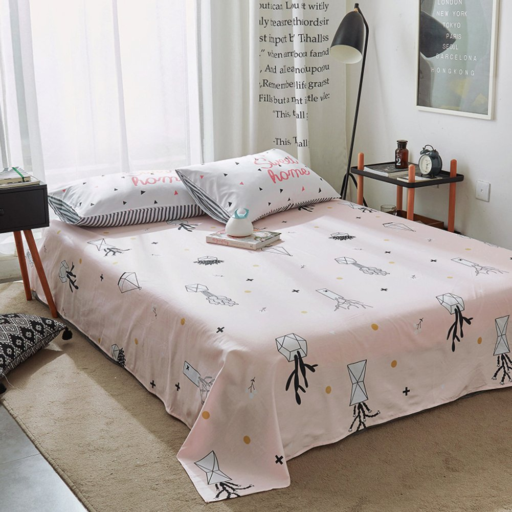 Pure Cotton Sheets Single Student Dormitory Bed Sheets Minimalist