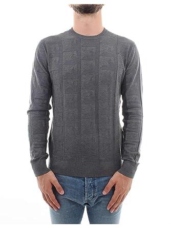 Emporio Armani pull homme vert  Amazon.fr  Vêtements et accessoires 8e2b915e815