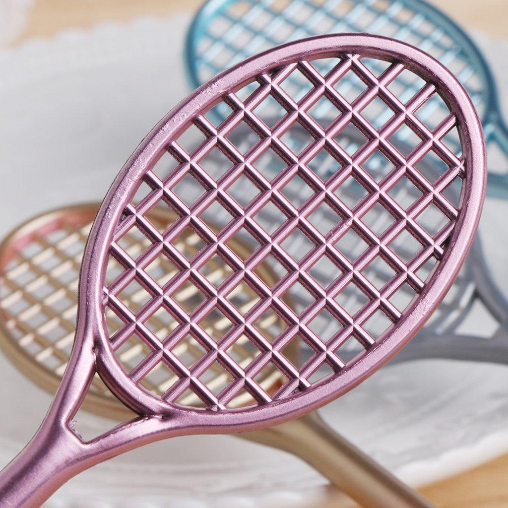 Forgun Mini Badminton Racket Slime Form Crystal Soil Kit Play with Slime Gel Pen by Forgun (Image #6)