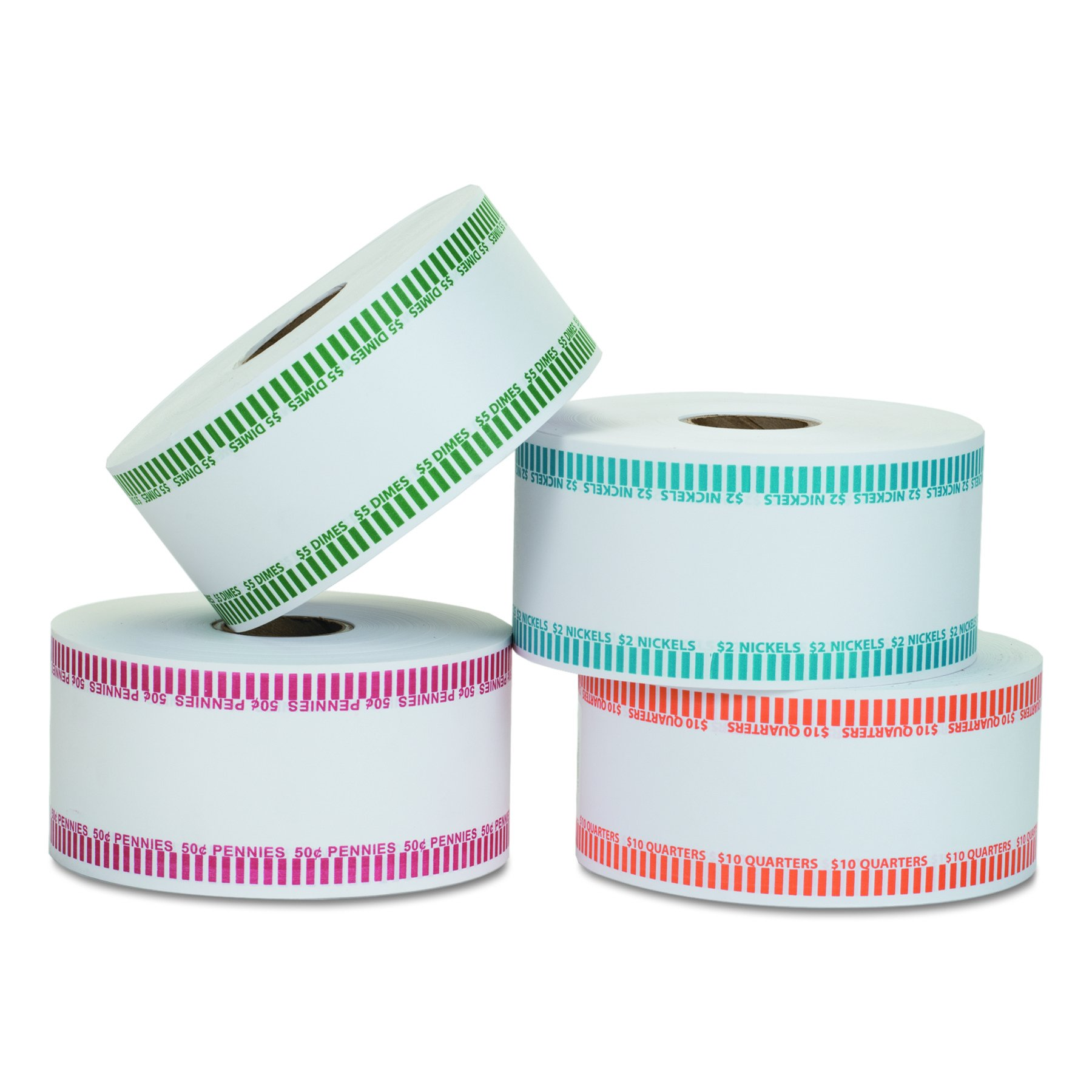 Coin-Tainer 50010 Automatic Coin Rolls, Dimes, 5, 1900 Wrappers per Roll by MMF Industries (Image #4)