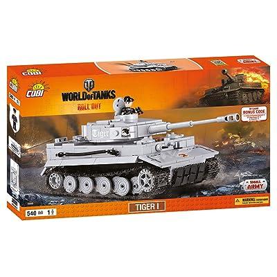 COBI World of Tanks Tiger 1: Toys & Games