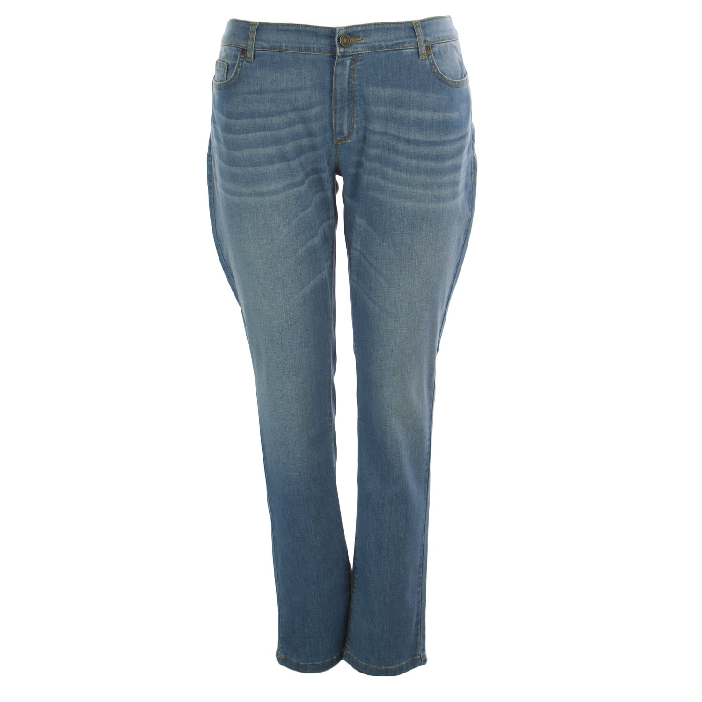 Marina Rinaldi Women's Iller Wonder Fit Jeans 22W / 31 Light Blue