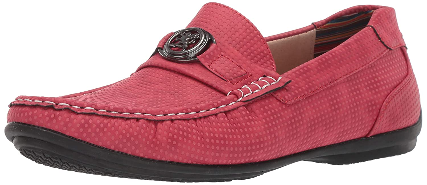 Red Stacy Adams Men's CYD Slip-on Driver Loafer Driving Style