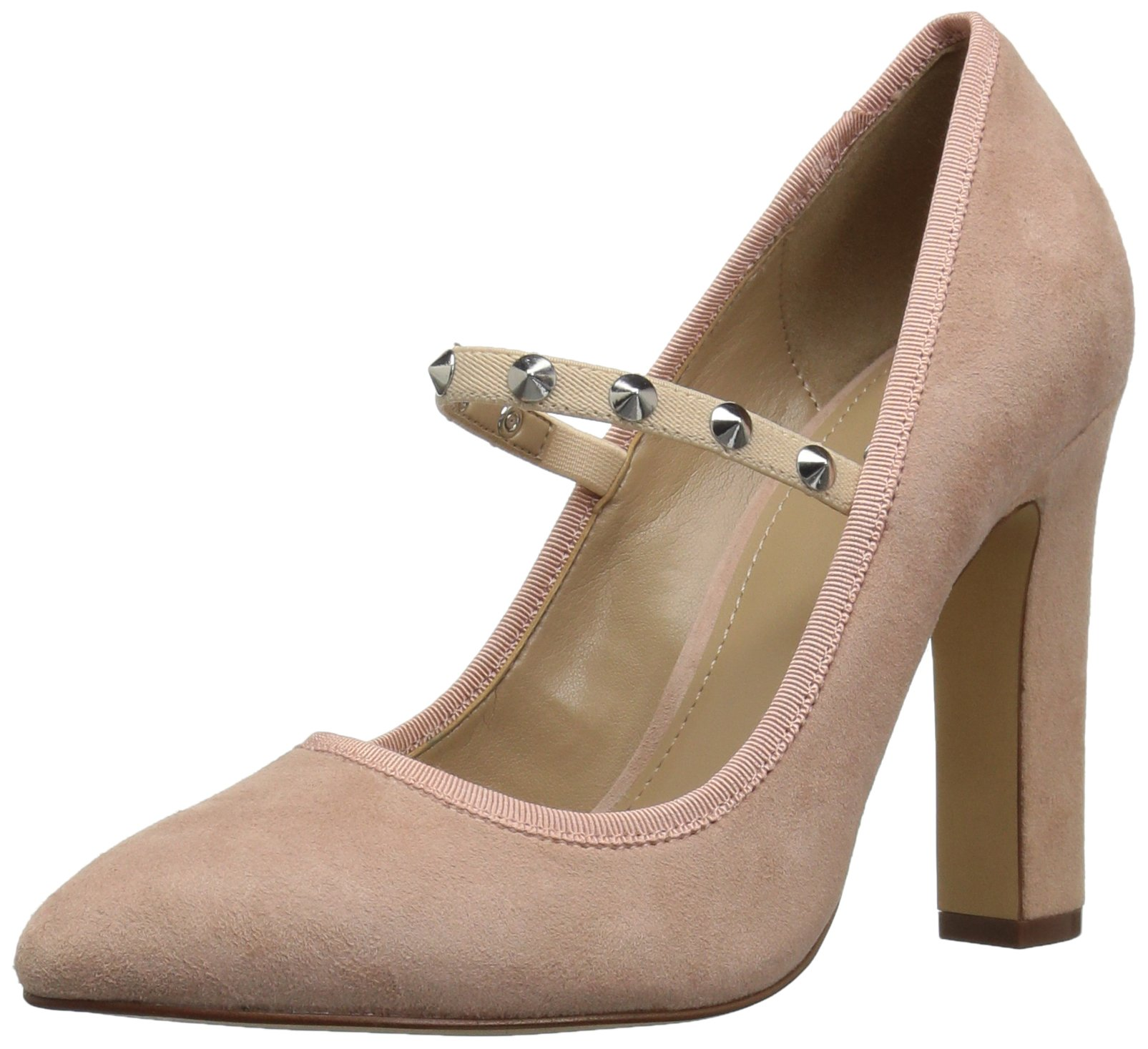 The Fix Women's Shay Studded Mary Jane Dress Pump, Petal Blush, 10 M US by The Fix (Image #1)