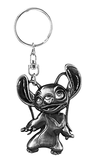 Monogram Lilo & Stitch Angel Pewter Llavero: Amazon.es ...