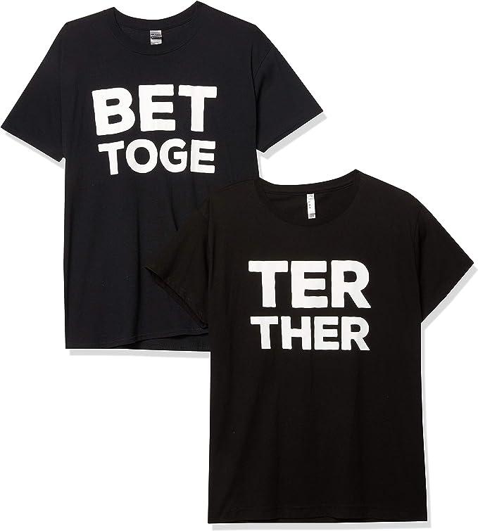 dos camisetas negras de parejas