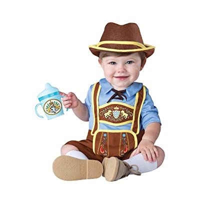 InCharacter Costumes Baby Boys' Little Lederhosen Costume: Clothing