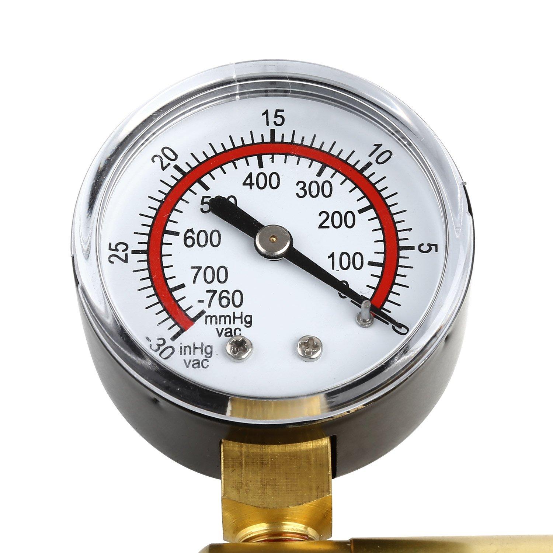 Mvpower Pompa A Vuoto Tester Spurgo Freno Vuoto Impianto Idraulico Kit Freni Frizione Portatile Professionale