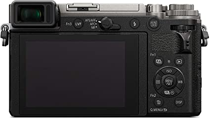 Panasonic Lumix DC-GX9MEF-S Digital MILC 20,3 MP Live Mos 5184 x 3888 Pixeles Negro, Plata - Cámara Digital (20,3 MP, 5184 x 3888 Pixeles, Live Mos, 4K Ultra HD, Pantalla táctil, Negro, Plata)