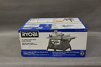 Ryobi zrrts10g 15 amp 10 in table saw with steel stand amazon ryobi zrrts10g 15 amp 10 in table saw with steel stand keyboard keysfo Image collections
