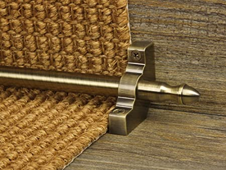 Exceptionnel Homepride Stair Rods In Antique Brass (Runner Up To 70cm)