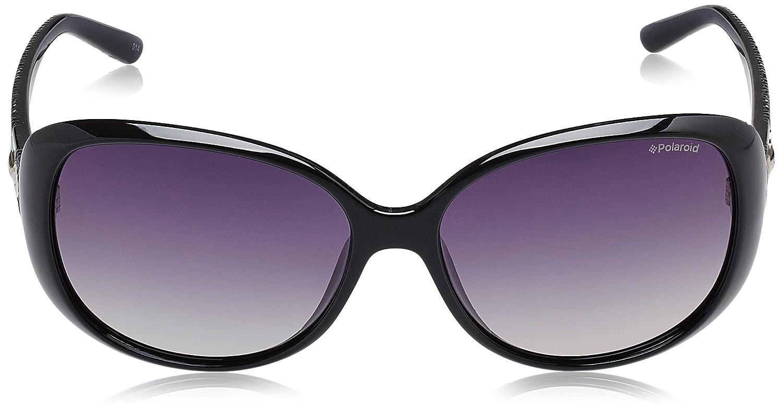 womens P8430 Rectangular Sunglasses Polaroid FbWc7sXB