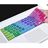 "2019/2018/2017 Acer CB3 CB5 CP315 CB515 15.6"" Chromebook Colorful Keyboard Cover Skin for Acer Chromebook 15 CB3-531 CB3-532 CB5-571 CP315 CB515 C910 Chromebook, Rainbow"