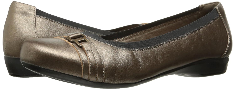 Clarks Frauen Kinzie Leder Loafers Pewter Pewter Loafers Leder 788a90
