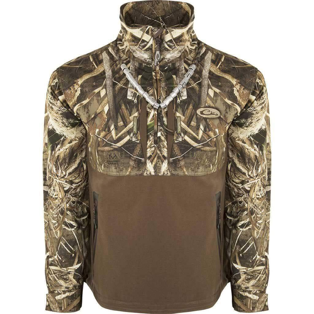 Drake Guardian Flex 1//4Zip Eqwader Shell Jacket MX5 Medium