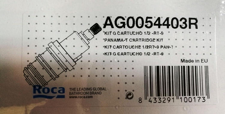 Roca AG0054403R - Kit G Cartucho 1/2 Termostático RT-9, Recambios originales de grifería: Amazon.es: Bricolaje y herramientas