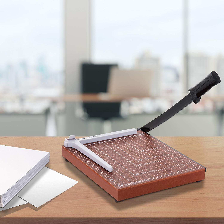 Rendio Professional Office Home School A3 cortador de papel Guillotina escritorio Tops cortador de papel m/áquina recortadora