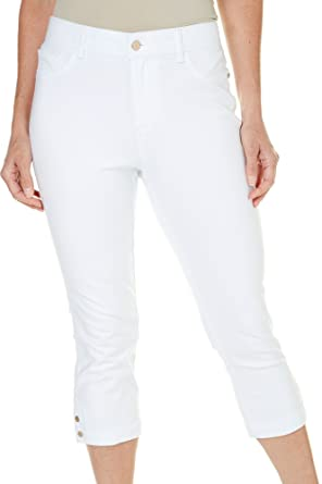 9dc87763c33e3 Gloria Vanderbilt Womens Knit Denim Simone Capris at Amazon Women s Clothing  store