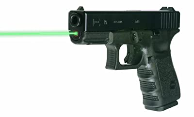LaserMax Guide Rod GREEN Laser Sight for GLOCK 19, 23, 32, 38 Pistols,(Fit Gen 1-3 Glocks)