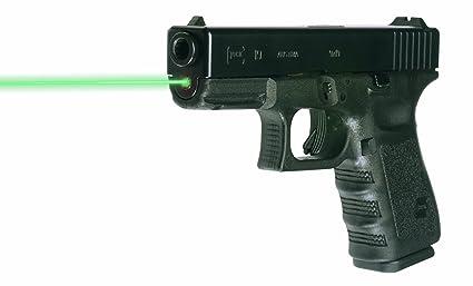 Lasermax green guide rod laser for glock 19/23/32/38 gen 1-3 lms.