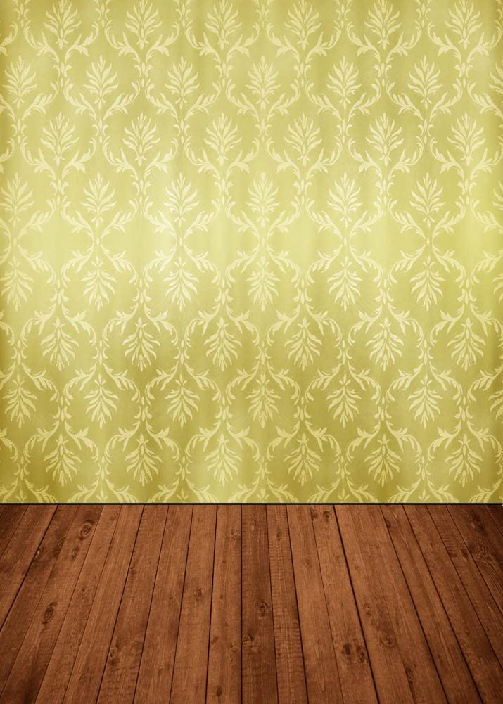 GladsBuy Golden Wallpaper 8 x 8 Computer Printed Photography Backdrop Textures Theme Background DT-SL-168
