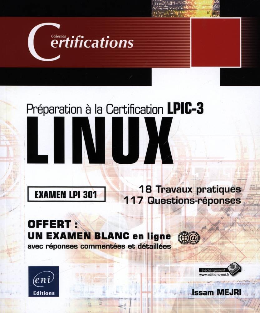 Amazon Buy Linux Preparation A La Certification Lpic 3 Examen