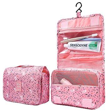 Amazon.com: Neceser colgante para mujeres y niñas, bolsa de ...