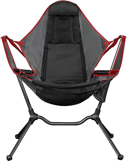Lazy Camper Camping Chair,fishing,beach,and other use+1 free poncho in blue