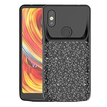 Xiaomi Mi Mix 2s Funda Batería, LifeePro 4700mAh Recargable Portátil Externa Batería de Alta Capacidad Battery Cargador Pack Banco de Energía Caja de ...
