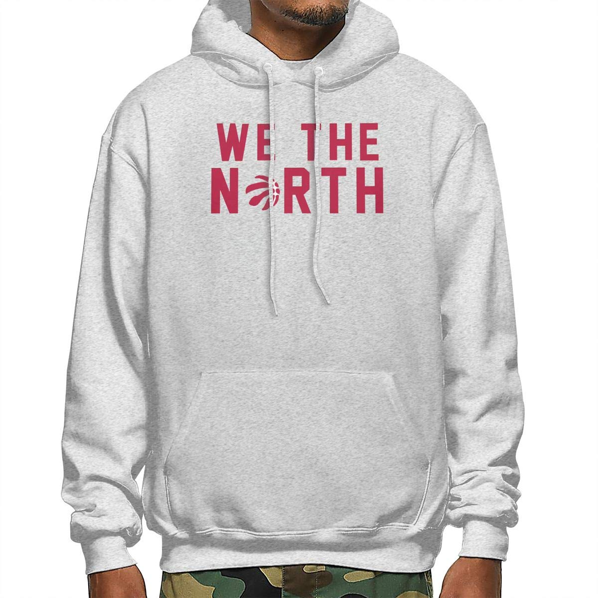 NGBGAG We The North Toronto-Raptors Lightweight Mens Casual Sport Hoodie with Hood Black