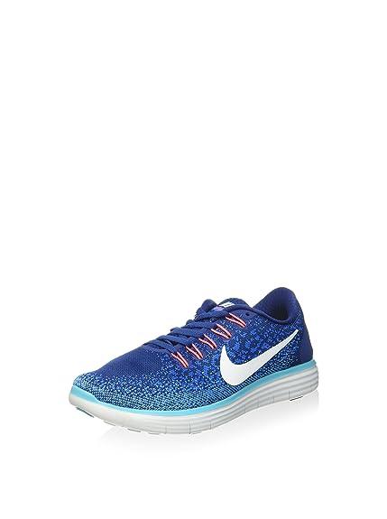 8a589b135c9 Nike 827116-401 Trail Running Shoes, Woman, Blue, 38 1/2: Amazon.co ...